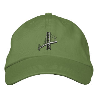 Golden Gate Bridge Embroidered Hat