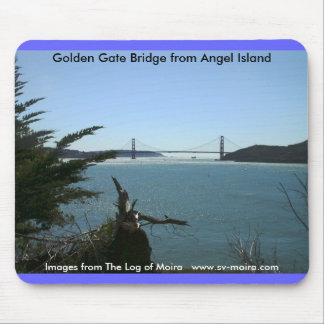 Golden Gate Bridge from Angel Island Mouse Pad