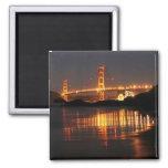 Golden Gate bridge from Barker Beach Magnet