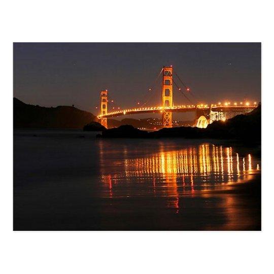 Golden Gate bridge from Barker Beach Postcard