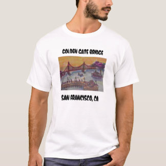 golden gate bridge from fishermans wf, GOLDEN G... T-Shirt