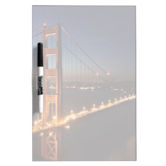 Golden Gate Bridge from Marin headlands Dry Erase Board
