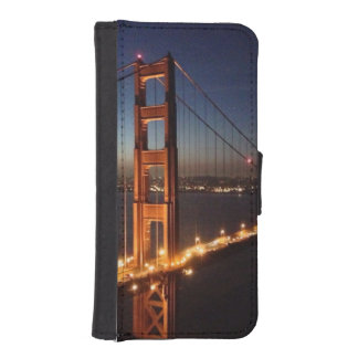 Golden Gate Bridge from Marin headlands iPhone SE/5/5s Wallet Case