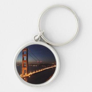 Golden Gate Bridge from Marin headlands Keychain