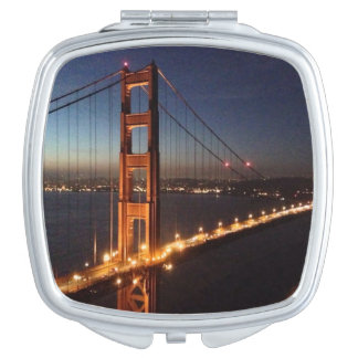Golden Gate Bridge from Marin headlands Mirror For Makeup