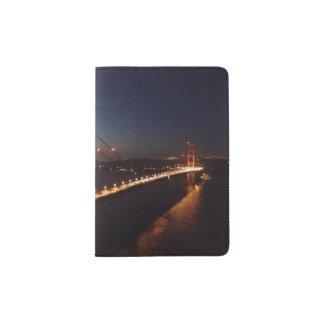 Golden Gate Bridge from Marin headlands Passport Holder