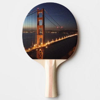 Golden Gate Bridge from Marin headlands Ping Pong Paddle