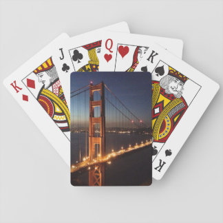 Golden Gate Bridge from Marin headlands Playing Cards