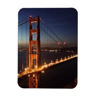 Golden Gate Bridge from Marin headlands Rectangular Photo Magnet