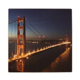 Golden Gate Bridge from Marin headlands Wood Coaster