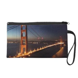 Golden Gate Bridge from Marin headlands Wristlet
