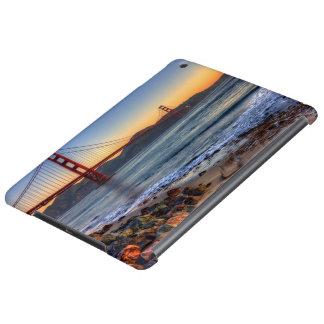 Golden Gate Bridge from San Francisco bay trail. iPad Air Case