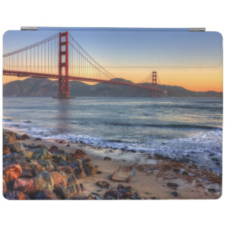 Golden Gate Bridge from San Francisco bay trail. iPad Cover