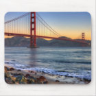 Golden Gate Bridge from San Francisco bay trail. Mouse Mat