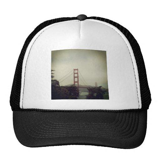 Golden gate Bridge Mesh Hats