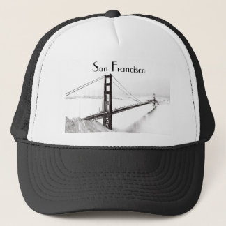 Golden Gate Bridge Hat, San Francisco Trucker Hat