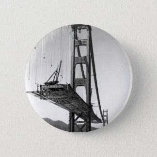 Golden Gate Bridge I 6 Cm Round Badge