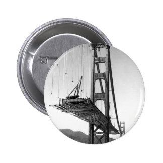 Golden Gate Bridge I 6 Cm Round Badge