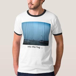 Golden Gate Bridge in Fog Tee Shirt