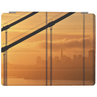 Golden Gate Bridge in front of the San Francisco iPad Cover