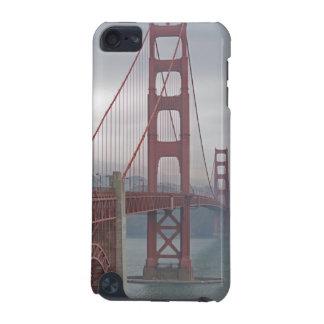 Golden gate bridge in mist. iPod touch 5G cases