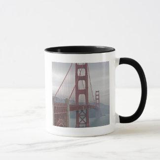 Golden gate bridge in mist. mug