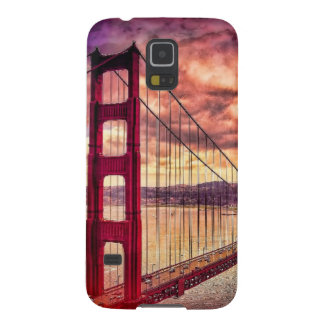 Golden Gate Bridge in San Francisco, California. Cases For Galaxy S5