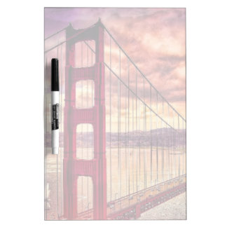 Golden Gate Bridge in San Francisco, California. Dry Erase Board