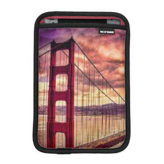 Golden Gate Bridge in San Francisco, California. iPad Mini Sleeve