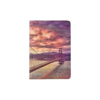 Golden Gate Bridge in San Francisco, California. Passport Holder