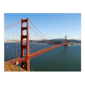 Golden Gate Bridge in San Francisco Postcard