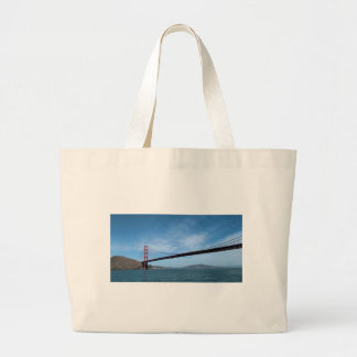 Golden Gate Bridge Large Tote Bag