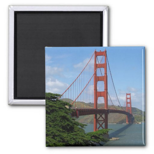 Golden Gate Bridge Refrigerator Magnets