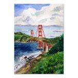 Golden Gate Bridge Painting Invite Cards 9 Cm X 13 Cm Invitation Card