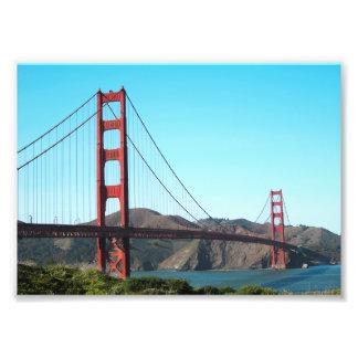 Golden Gate Bridge Art Photo