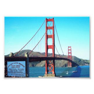 Golden Gate Bridge Photo Art