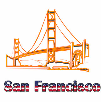 Golden Gate Bridge Photo Sculpture Decoration