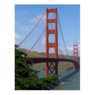 Golden Gate Bridge Post Card
