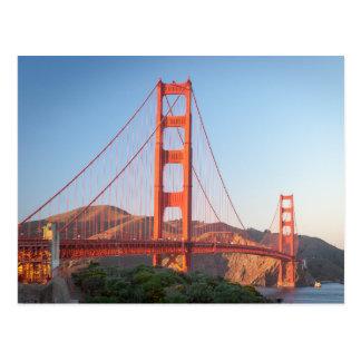 Golden Gate Bridge Postcard