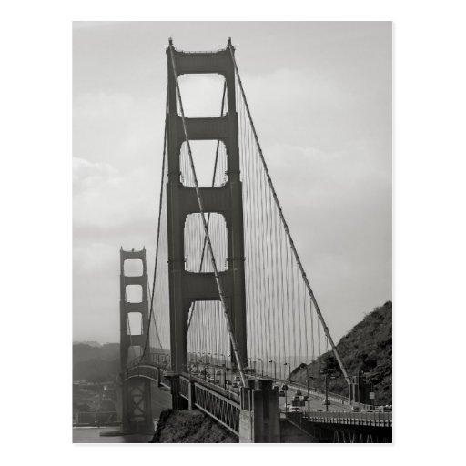 Golden Gate Bridge Postcard Post Card