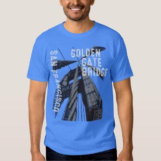 Golden Gate Bridge POV Design Shirts