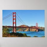 Golden Gate Bridge Print Print