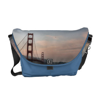 Golden Gate Bridge Rickshaw Messenger Bag