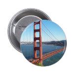Golden Gate Bridge, San Francisco 6 Cm Round Badge
