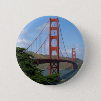 Golden Gate Bridge, San Francisco 6 Cm Round Badge