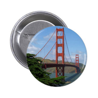 Golden Gate Bridge San Francisco Buttons