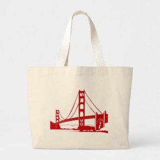 Golden Gate Bridge - San Francisco, CA Tote Bags