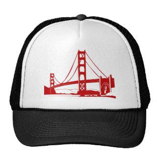 Golden Gate Bridge - San Francisco CA Mesh Hats