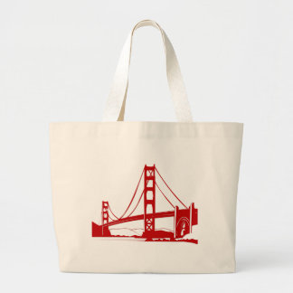 Golden Gate Bridge - San Francisco, CA Jumbo Tote Bag
