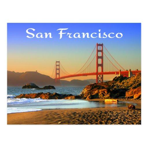 Golden Gate Bridge San Francisco CA Postcard | Zazzle